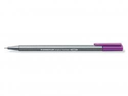 stylo d'écriture Triplus fineliner 0,3 mm - Violet