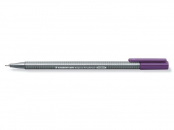 stylo d'écriture Triplus fineliner 0,3 mm - Prune