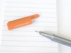 stylo biseauté 0,3 mm - Marron