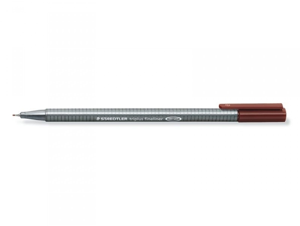 """Triplus"" fineliner (0.3 mm) - brown"