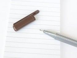 stylo biseauté 0,3 mm - Brun
