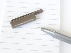 stylo biseauté 0,3 mm - Sépia