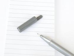 stylo biseauté 0,3 mm - Gris