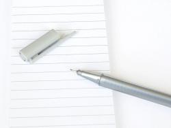 stylo biseauté 0,3 mm - Argent
