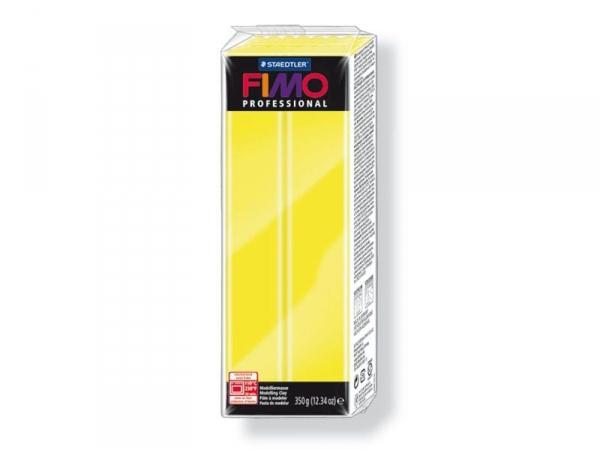 Pâte Fimo Pro Jaune citron 1 - 350g