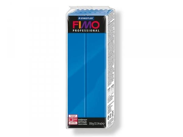 Pâte Fimo Pro Bleu pur 300 - 350g