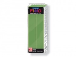 Pâte Fimo Pro Vert feuille 57 - 350g