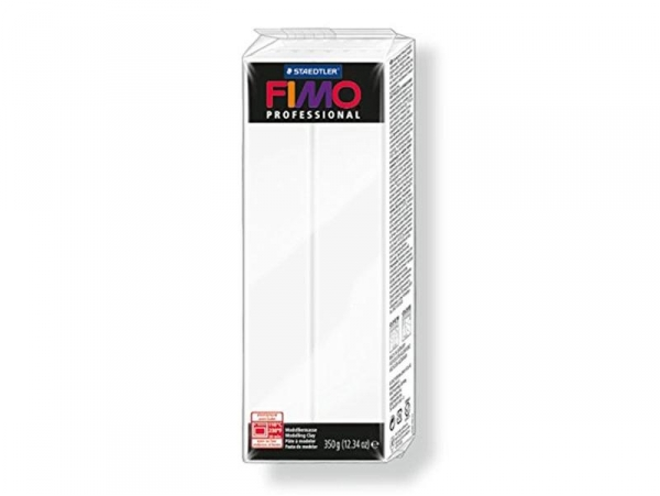 Fimo Professional - white no. 0 - 350 g