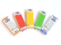Pâte Fimo Soft Rouge Indien 24 - 350 g