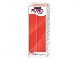 Pâte Fimo Rouge Indien 24 Soft 350 g