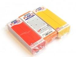 Pâte Fimo Soft Jaune Tournesol 16 - 350 g Fimo - 3
