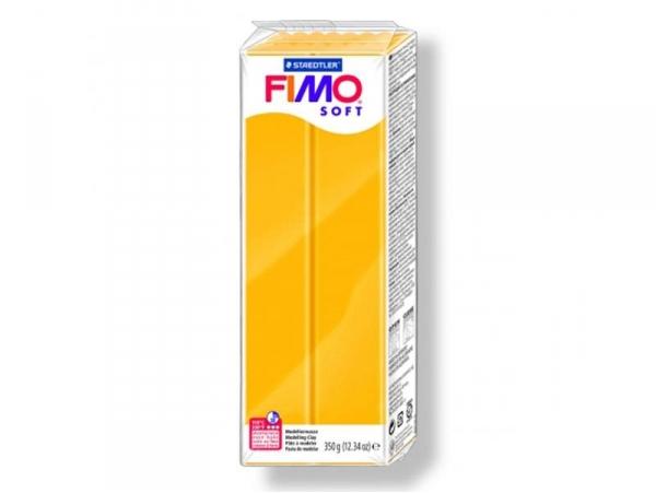 Pâte Fimo Soft Jaune Tournesol 16 - 350 g Fimo - 1