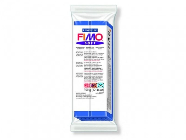 Fimo Soft - Brilliant blue no. 33 (350 g)