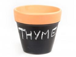 Small flower pot - slate