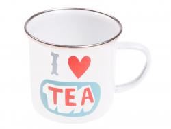 "Mug  "" I love tea"""