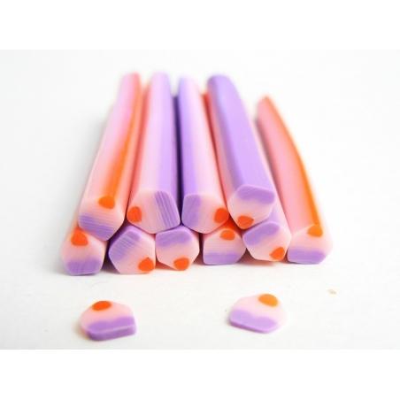 Acheter Cane cupcake violette et rose - 0,49€ en ligne sur La Petite Epicerie - Loisirs créatifs
