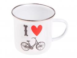 "Tasse - ""I love bicycles"""