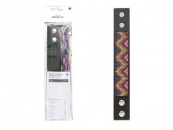 Acheter Kit de Bracelet à broder - Zig Zag - 7,80€ en ligne sur La Petite Epicerie - Loisirs créatifs