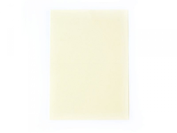 1 sheet of letter paper - off-white