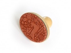 Stamp with a wooden handle - Reindeer
