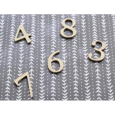 Acheter Chiffre 3 à customiser - en papier mâché - 0,89€ en ligne sur La Petite Epicerie - Loisirs créatifs