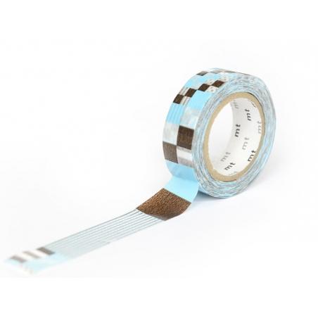 Masking tape motif - Mix Blue Masking Tape - 2