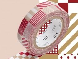 Acheter Masking tape motif - Mix Red - 3,30€ en ligne sur La Petite Epicerie - 100% Loisirs créatifs