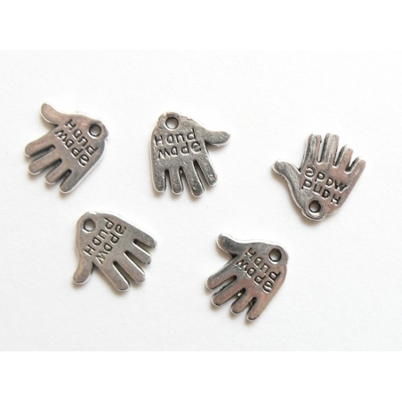 Acheter 1 Breloque handmade argentée - 0,39€ en ligne sur La Petite Epicerie - 100% Loisirs créatifs