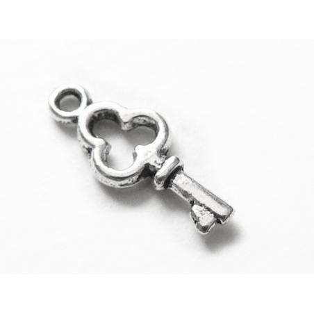 Acheter 1 breloque petite clé argentée - 0,19€ en ligne sur La Petite Epicerie - Loisirs créatifs
