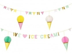 Garland - We love ice-cream!
