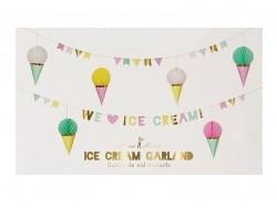 Guirlande WE LOVE ICE CREAM!