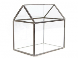 House-shaped terrarium