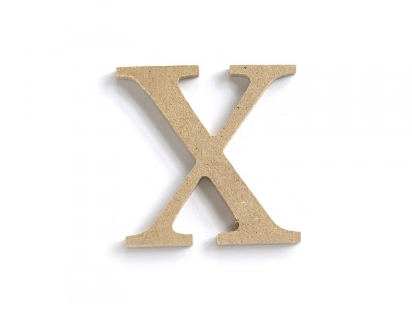 Acheter Lettre X à customiser - en papier mâché - 0,89€ en ligne sur La Petite Epicerie - 100% Loisirs créatifs