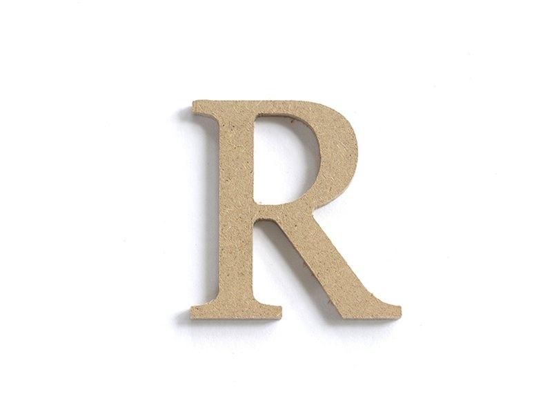 Acheter Lettre R à customiser - en papier mâché  - 0,89€ en ligne sur La Petite Epicerie - 100% Loisirs créatifs