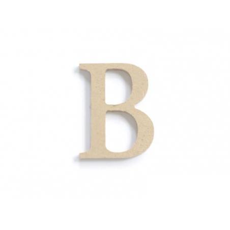 Acheter Lettre B à customiser - en papier mâché - 0,89€ en ligne sur La Petite Epicerie - Loisirs créatifs