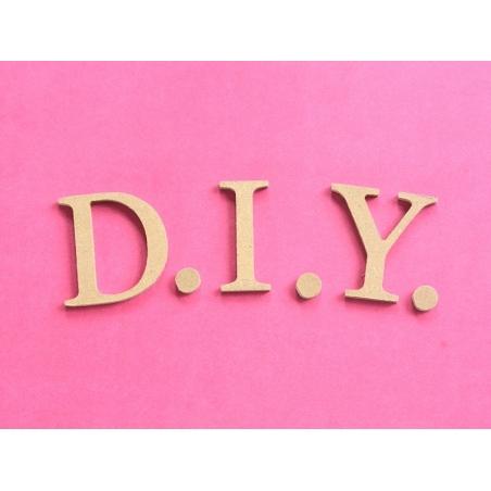 Customisable papier mâché punctuation mark - dot