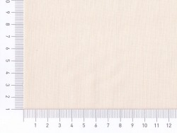 Tissu polycoton uni - Meringue