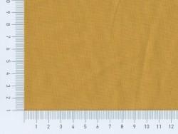 Tissu polycoton uni - Moutarde