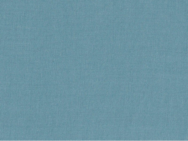 Tissu polycoton uni - Bleu canard