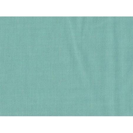 Tissu polycoton uni - Menthe glacée