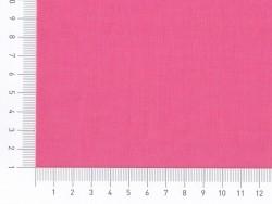 Tissu polycoton uni - rose Pralin