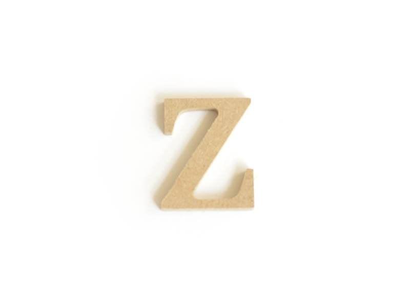 Acheter Lettre z en kraft à customiser - en papier mâché  - 0,89€ en ligne sur La Petite Epicerie - 100% Loisirs créatifs