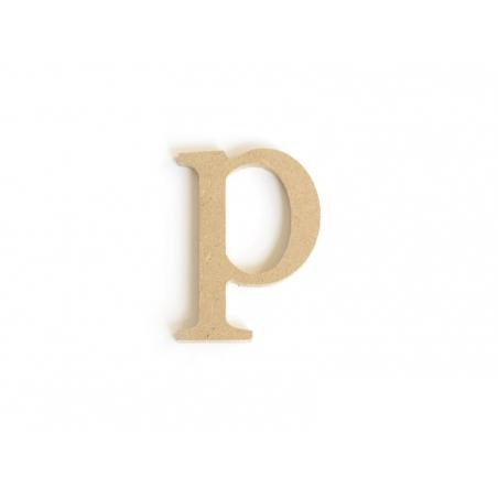 Acheter Lettre p en kraft à customiser - en papier mâché  - 0,89€ en ligne sur La Petite Epicerie - 100% Loisirs créatifs