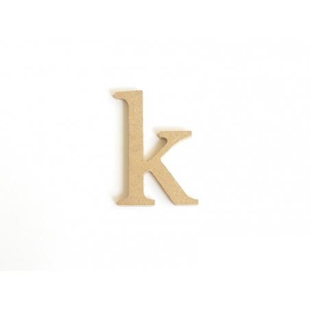 Acheter Lettre k en kraft à customiser - en papier mâché  - 0,89€ en ligne sur La Petite Epicerie - 100% Loisirs créatifs