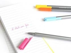 20 stylos Triplus fineliner - Couleurs Brillantes