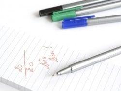 4 stylos Triplus fineliner - Couleurs Brillantes Staedtler - 2