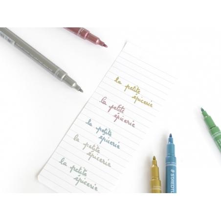 Acheter 5 feutres encre métallisée - 9,10€ en ligne sur La Petite Epicerie - Loisirs créatifs
