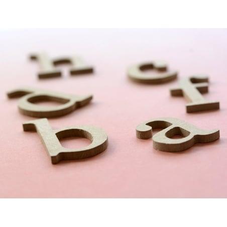 Acheter Lettre f en kraft à customiser - en papier mâché - 0,89€ en ligne sur La Petite Epicerie - Loisirs créatifs