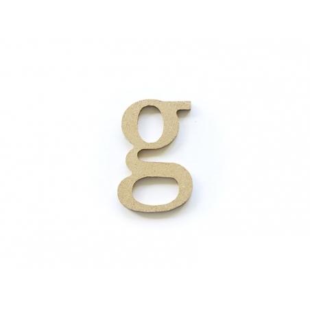 Acheter Lettre g en kraft à customiser - en papier mâché - 0,89€ en ligne sur La Petite Epicerie - Loisirs créatifs