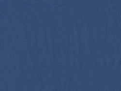Cotton blend fabric - Blueberry blue